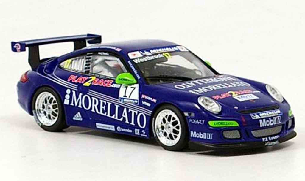 Porsche 997 GT3 CUP 1/43 Minichamps GT3 Cup 2006 Morellato Racing diecast model cars