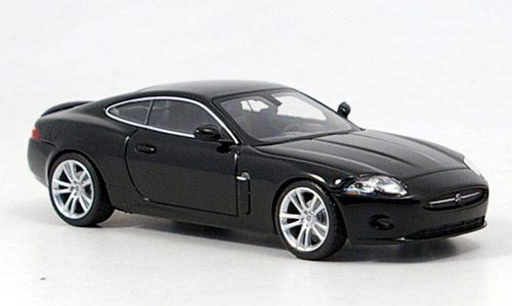 Jaguar XK Coupe black 2006 Minichamps. Jaguar XK Coupe black 2006 miniature 1/43