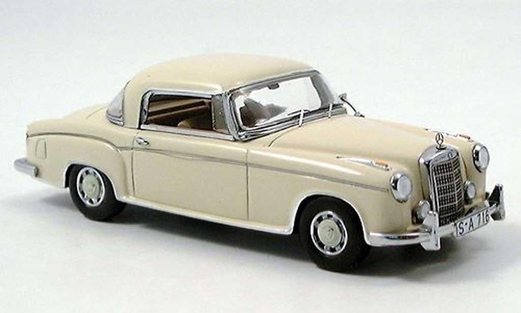 Mercedes 220 S 1/43 Spark Coupe (W180) beige miniature