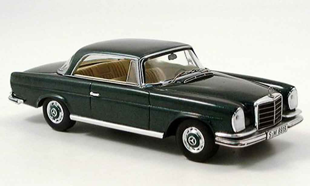 Mercedes 280 1961 1/43 Spark SE 3.5 Coupe (W 111) grun 71 miniature