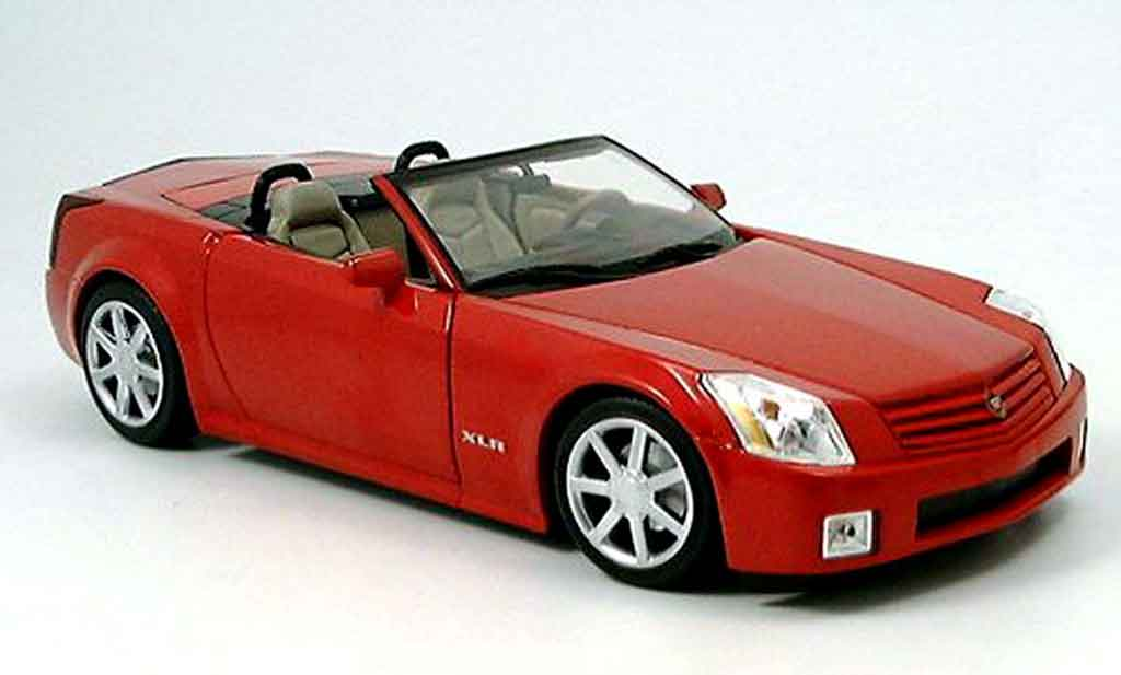 Cadillac XLR roadster red Hot Wheels. Cadillac XLR roadster red miniature 1/18