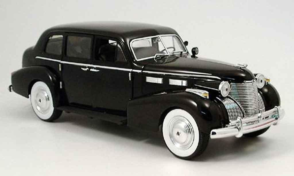 Cadillac Fleetwood 1/18 Jada Toys Toys series 75 noire der pate 1940 miniature