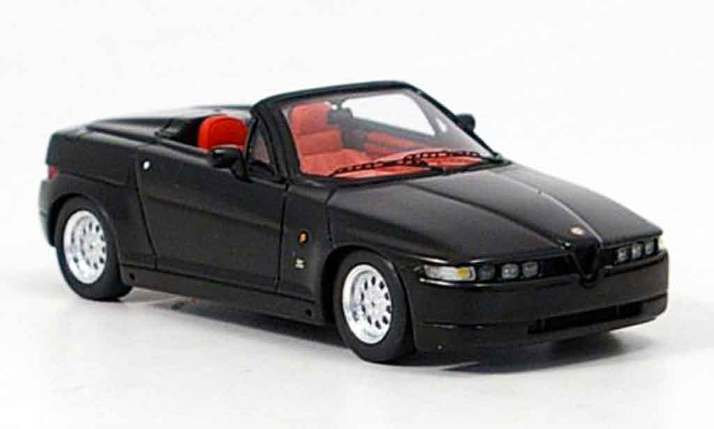 Alfa Romeo RZ 1/43 Spark black 1192 diecast model cars