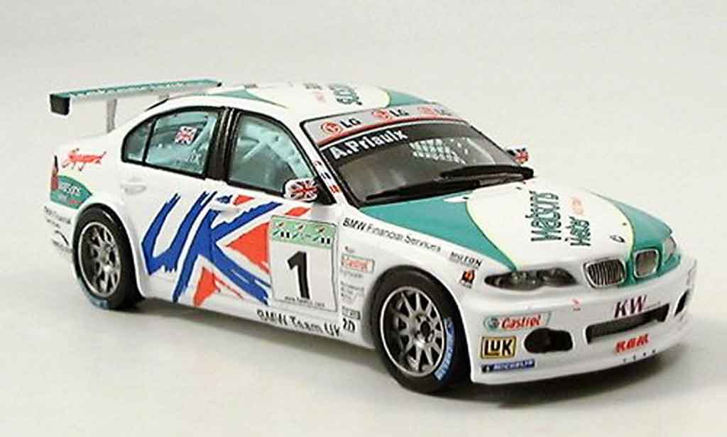 Bmw 320 E46 1/43 Spark i 3er No.1 Sieger WTCC Macau Priaulx 2005 miniature