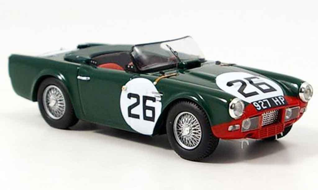 Triumph TR4 1/43 Spark S No.26 Le Mans 1961 diecast model cars