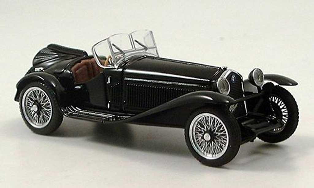 Alfa Romeo 2300 1/43 Brumm black RHD 1931 diecast model cars