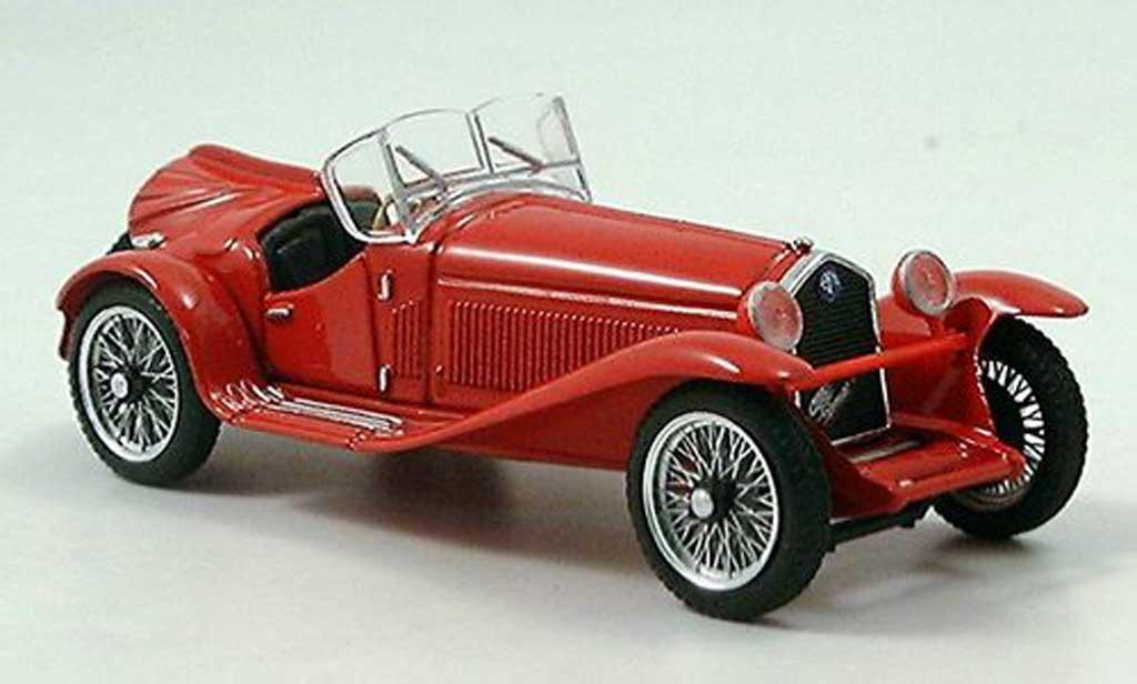Alfa Romeo 2300 1/43 Brumm Cabrio rouge miniature