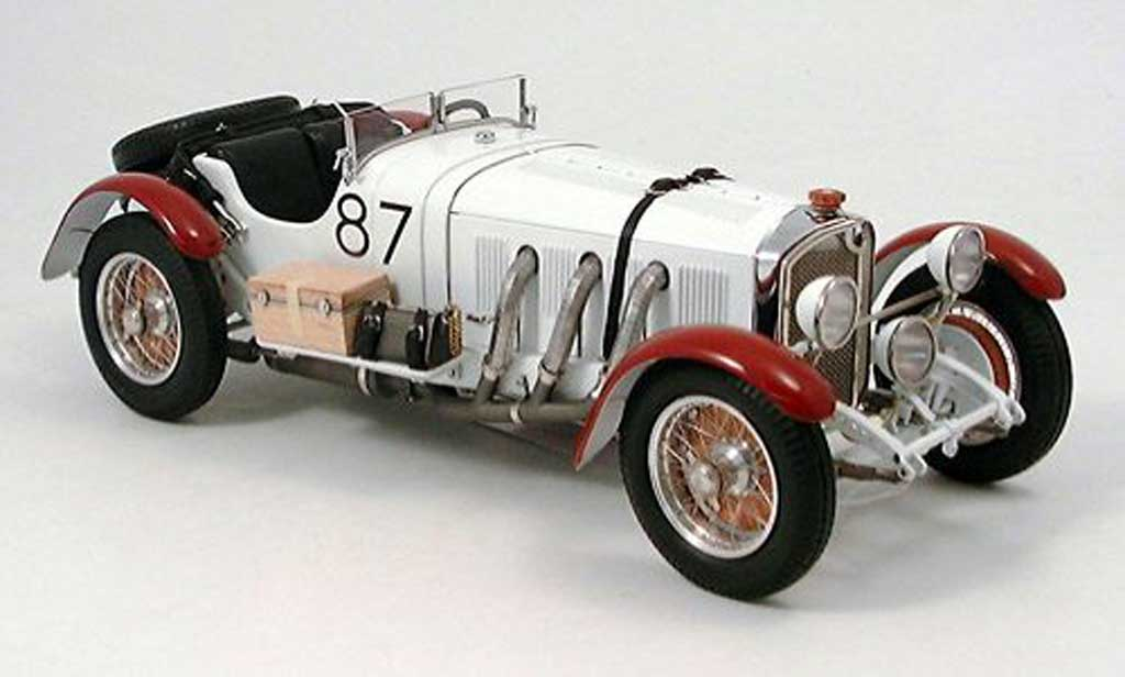 Mercedes ssk l white cmc diecast model car 1 18 buy sell for Mercedes benz ssk 1928 burago