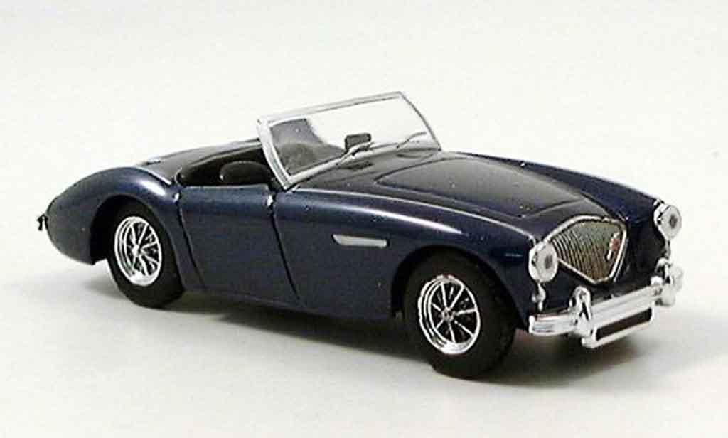 Austin Healey 100 1/43 Del Prado /6 Cabrio bleu miniature