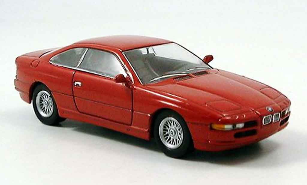 Bmw 850 1/43 Del Prado i rouge miniature