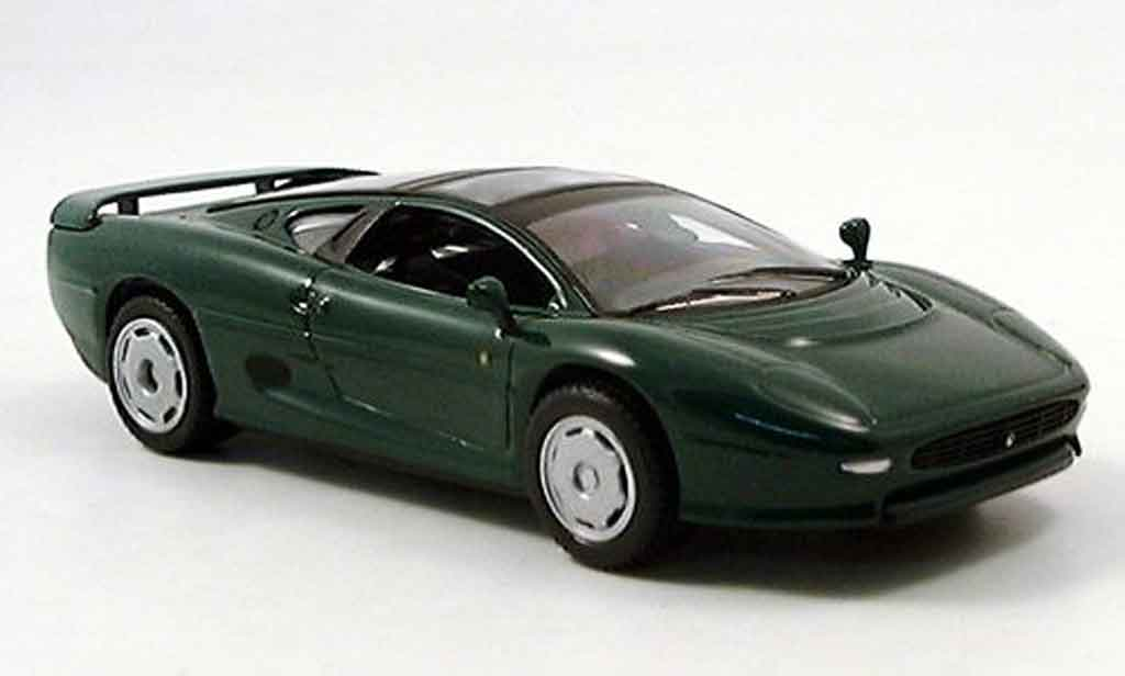 jaguar xj 220 miniature verte del prado 1 43 voiture. Black Bedroom Furniture Sets. Home Design Ideas