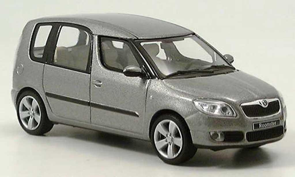 Skoda Roomster 1/43 Abrex anthrazit 2006 miniature