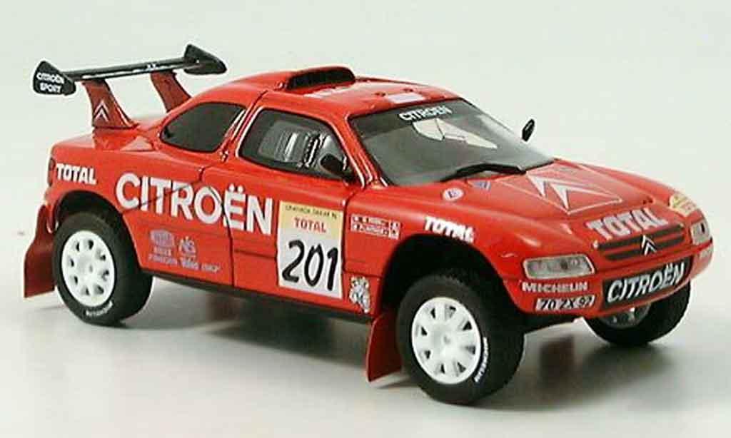Citroen ZX 1/43 Norev rallye dakar lartigue perin 1996 miniature