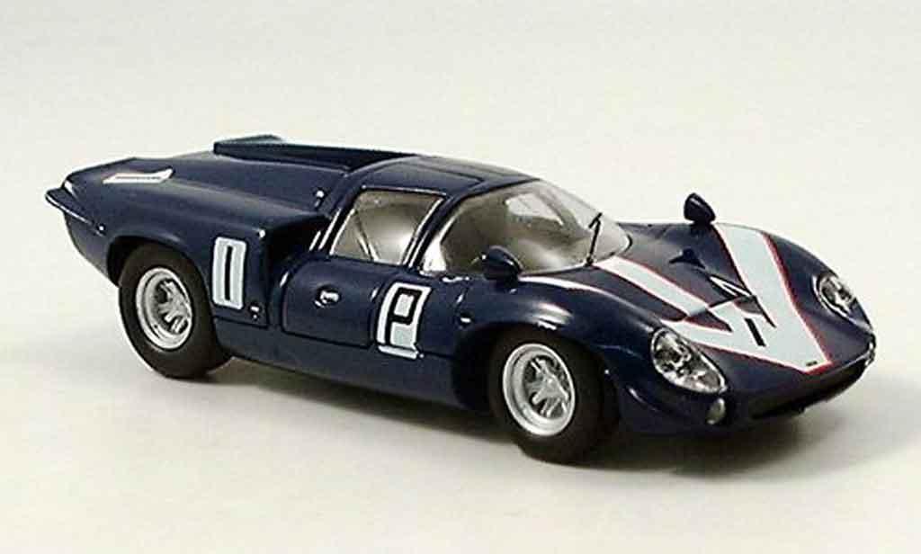 Lola T70 1/43 Del Prado MK II No.1 bleu miniature