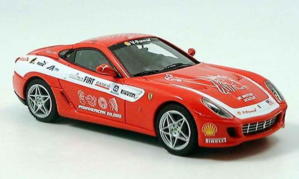 Ferrari 599 GTB 1/43 Look Smart fiorano panamericana red diecast model cars
