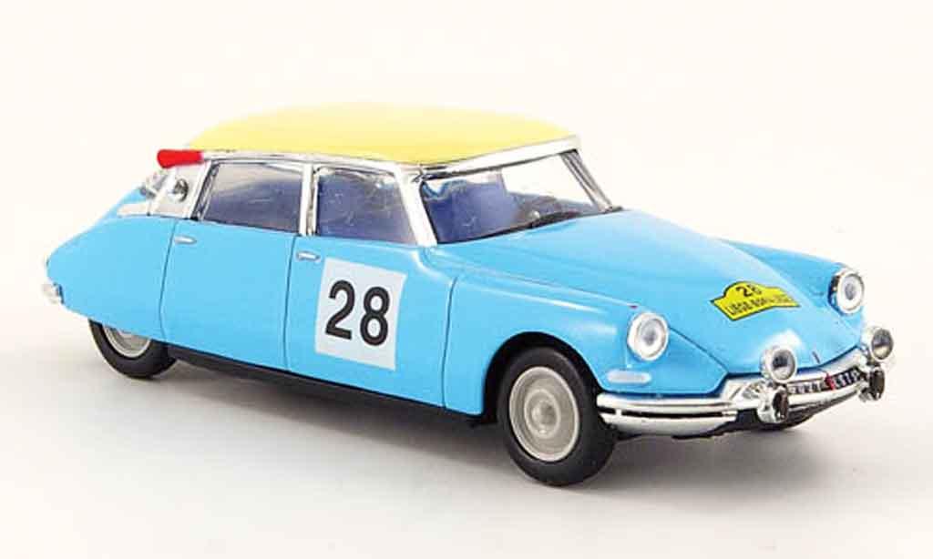 Citroen ID 19 1/43 Universal Hobbies rallye liege sofia no.28 miniature