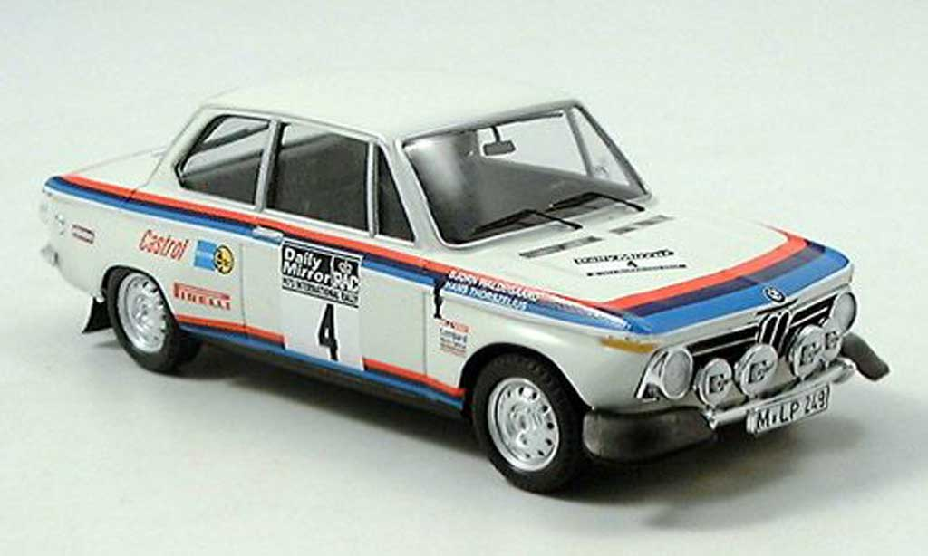 Bmw 2002 Tii 1/43 Trofeu Works Team Rally RAC 1973 Waldegard/Thorzelius diecast