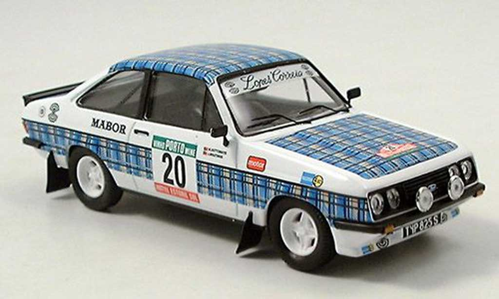 Ford Escort RS 2000 1/43 Trofeu No.20 Lopes Correia Rally Portugal 1979 miniature