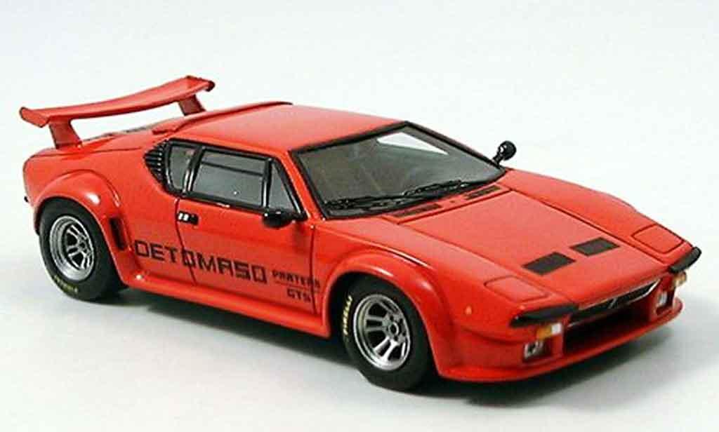 De Tomaso Pantera GT5 1/43 Spark rouge 1981 miniature