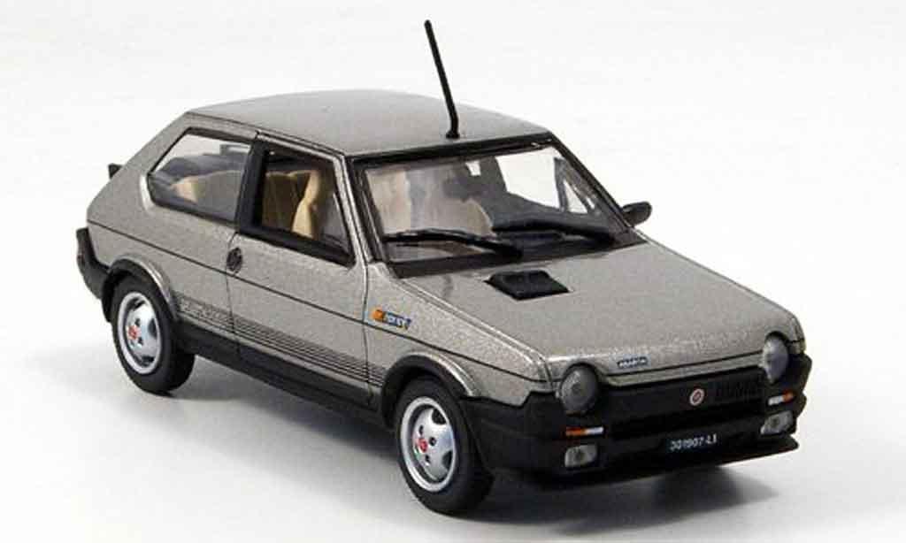 Fiat Ritmo 125 TC 1/43 Norev Abarth grise 1981 miniature