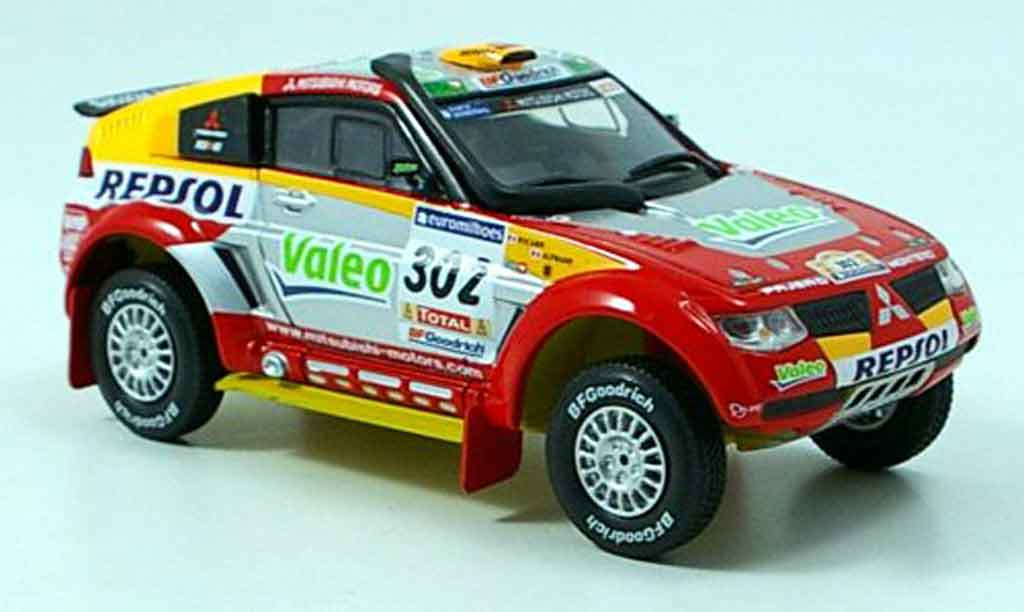 Mitsubishi Pajero Evolution 1/43 Norev Paris Dakar 2006 diecast model cars