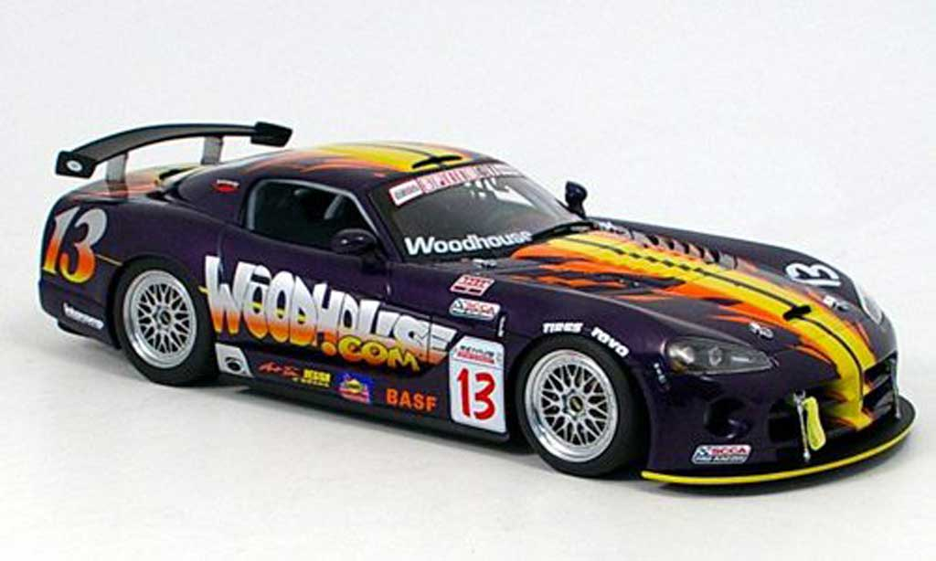 Dodge Viper Competition 1/18 Autoart coupe no.13 scca 2004 miniature