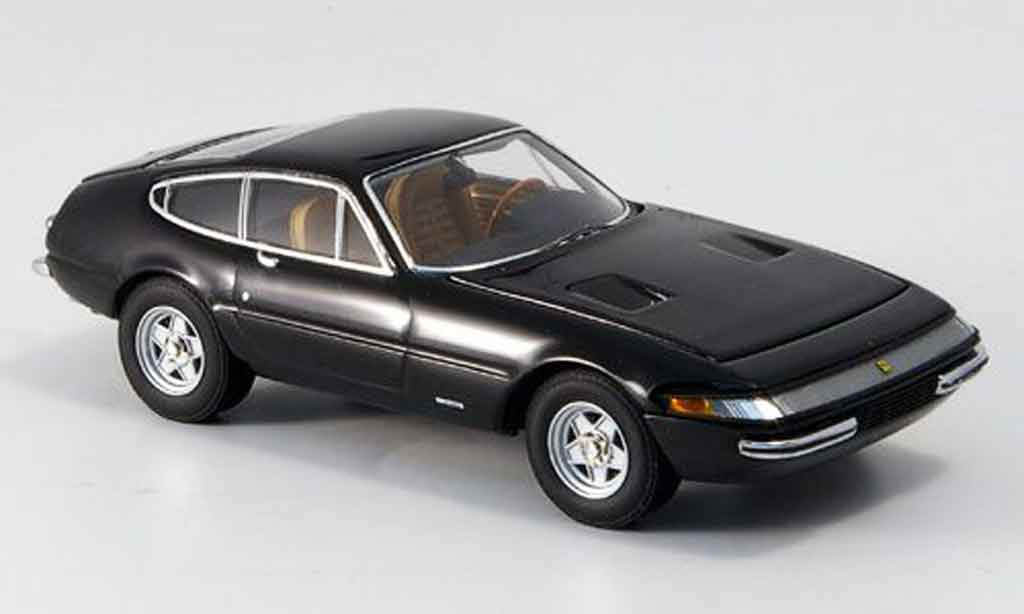 Ferrari 365 GTB/4 1/43 Kyosho noire 1969