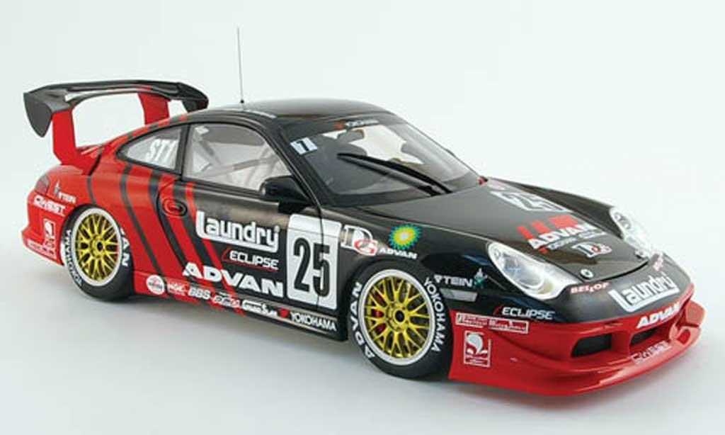 Porsche 996 GT3 Cup 1/18 Autoart no.25 yokohama super taikyu 2005 miniature