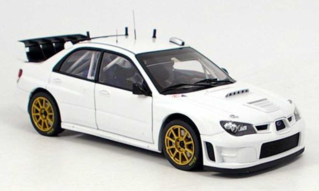 Subaru Impreza WRC 1/18 Autoart plain body blanche 2006 miniature