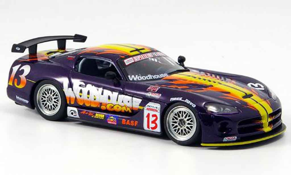 Dodge Viper Competition 1/43 Autoart Coupe No.13 SCCA 2004 miniature