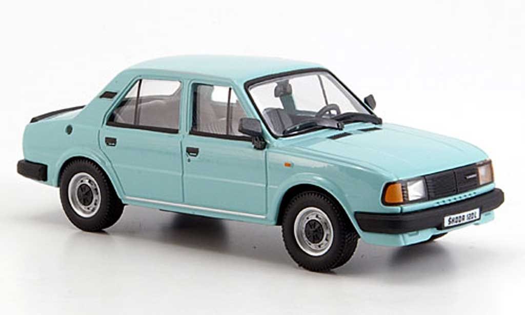 Skoda 120 L turkis 1986 Abrex. Skoda 120 L turkis 1986 miniature 1/43