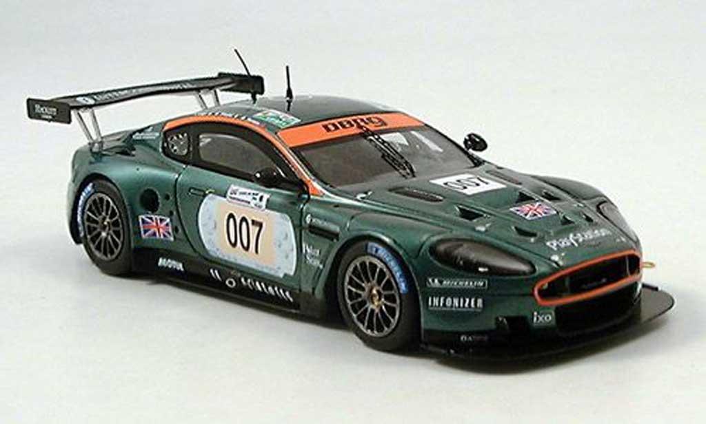 Aston Martin DBR9 1/43 Spark No.007 Le Mans 2006 miniature