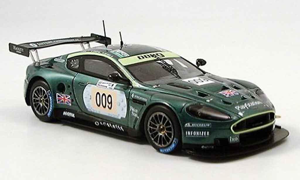 Aston Martin DBR9 1/43 Spark no.009 le mans 2006 diecast