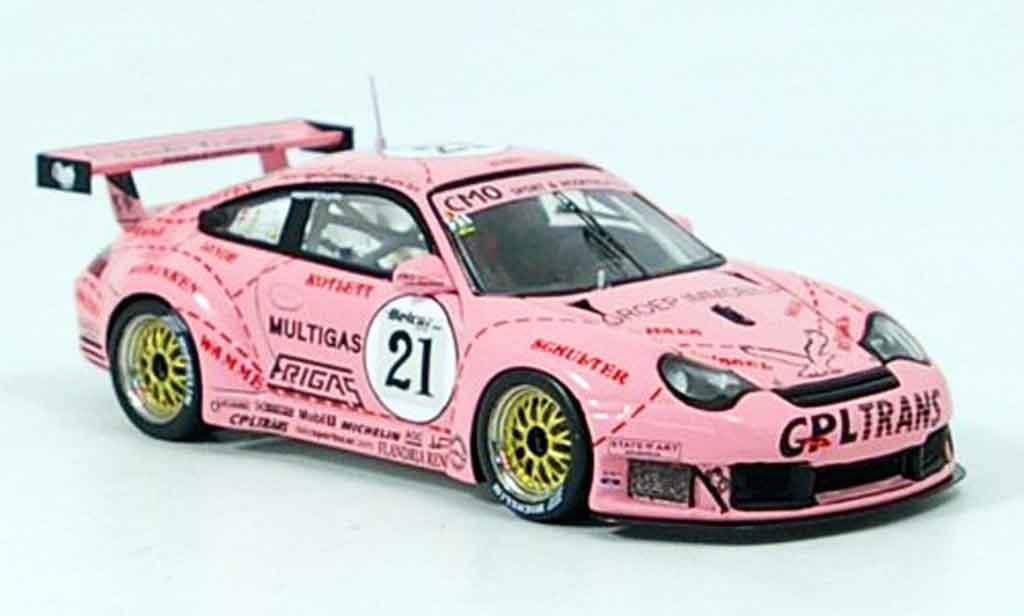 Porsche 996 RSR 1/43 Spark RSR R No.21 Team Prospeed Zolder diecast model cars