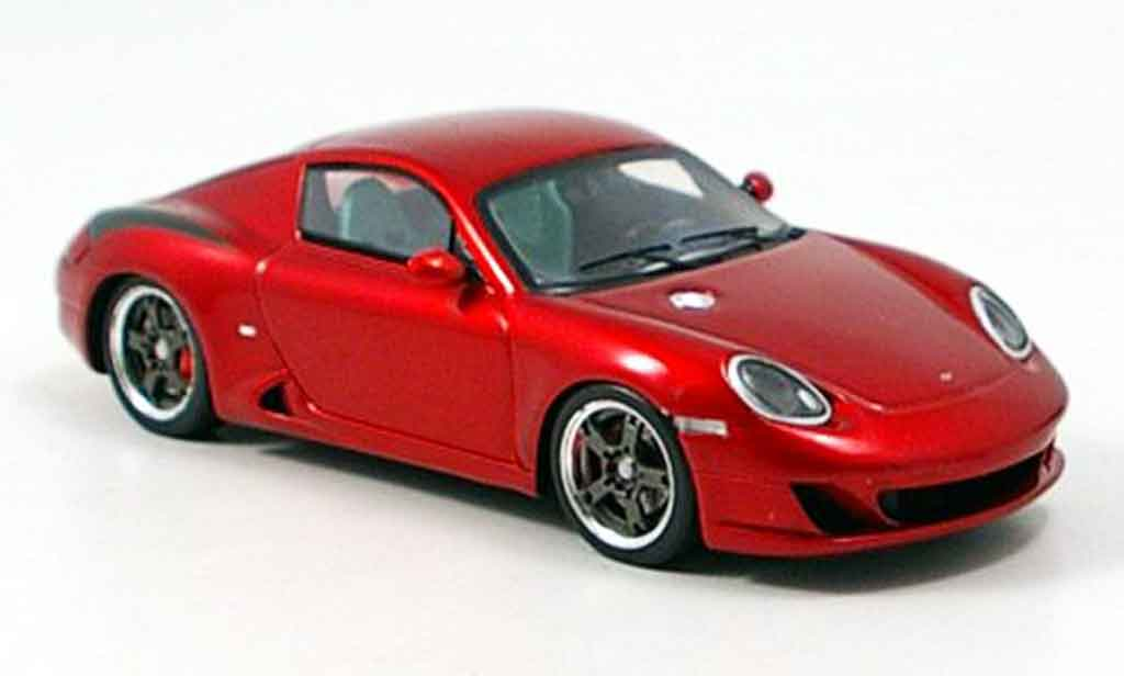 Ruf RK coupe 1/43 Spark rouge 2006 miniature