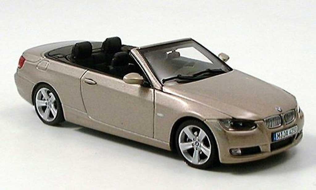 Bmw 330 E93 1/43 Autoart Cabrio beige 2006 miniature