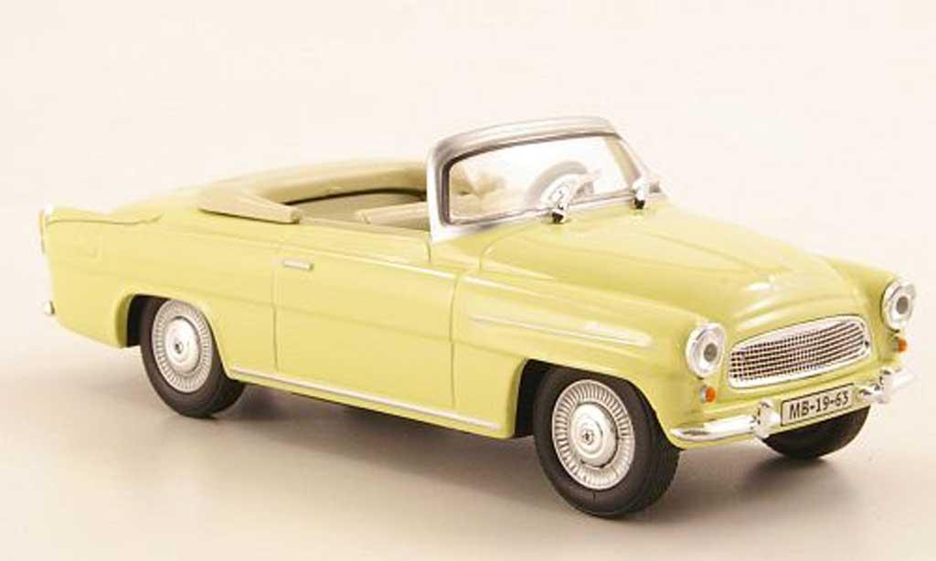 Skoda Felicia 1/43 Abrex Roadster beige miniature