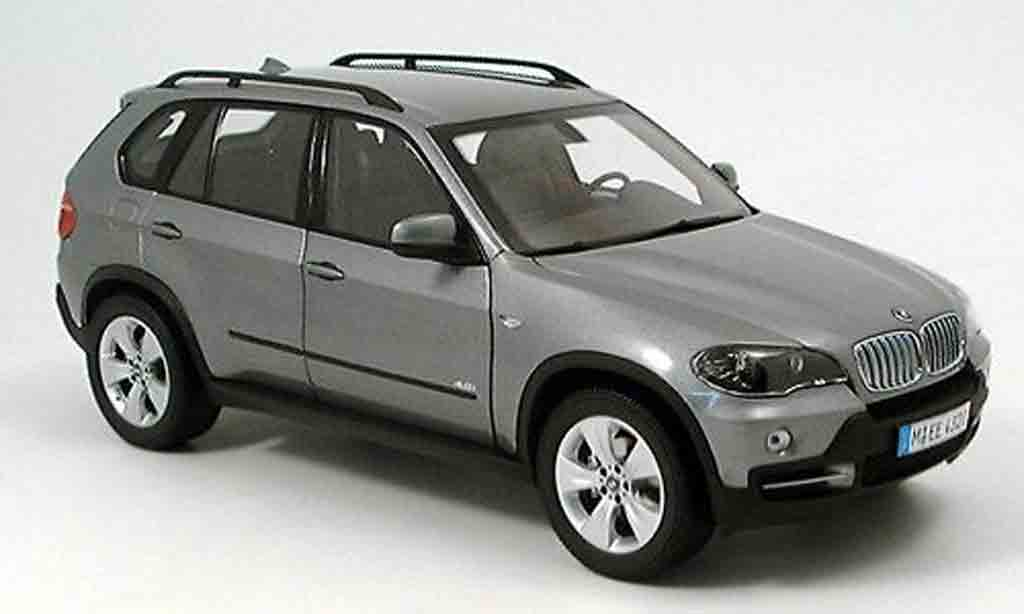 Bmw X5 E70 1/18 Kyosho grey 2007 diecast model cars