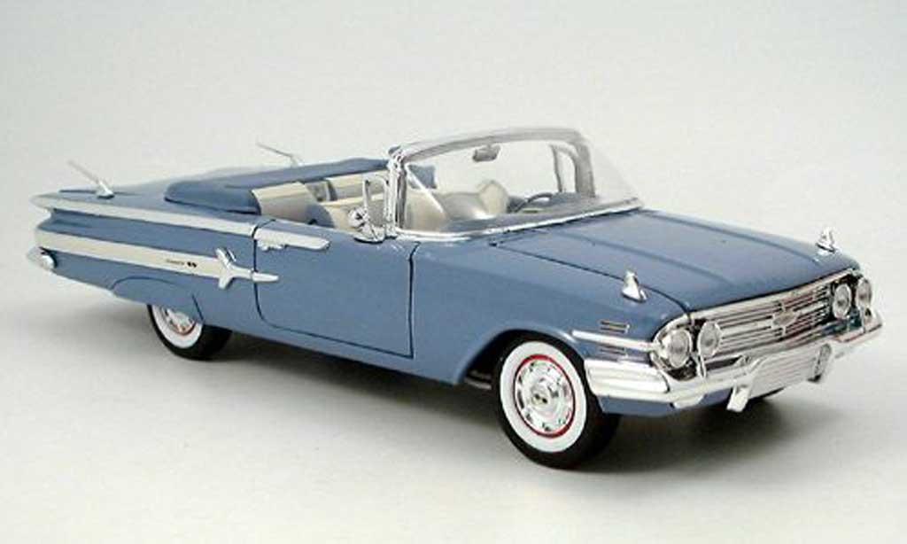 chevrolet impala 1960 blau motormax modellauto 1 18. Black Bedroom Furniture Sets. Home Design Ideas