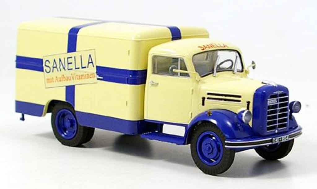Borgward B 2500 1/43 Schuco Sanella Kastenwagen miniature