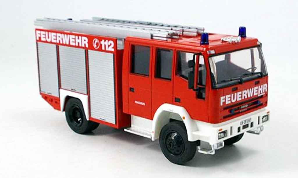 Magirus LF 16 1/43 Schuco Iveco 12 pompier miniature