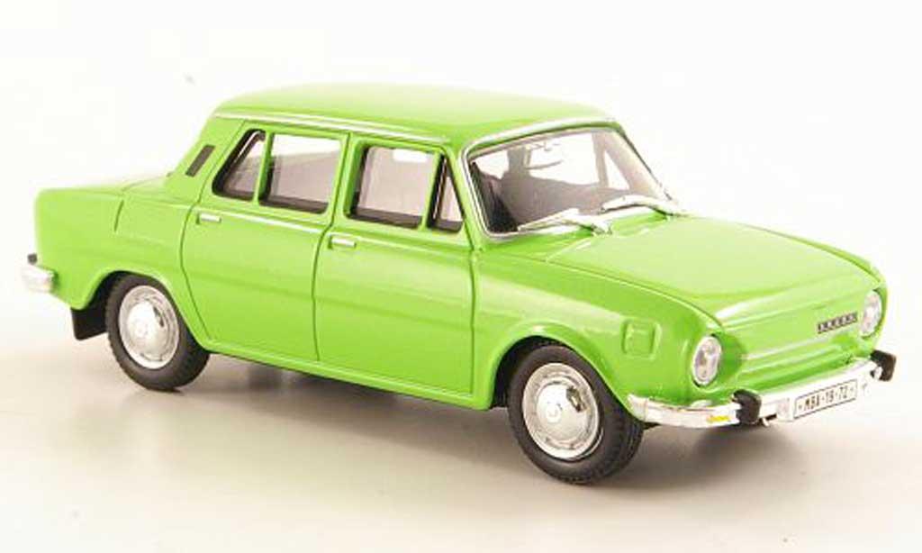 Skoda 110 1/43 Abrex L grun 1969 miniature