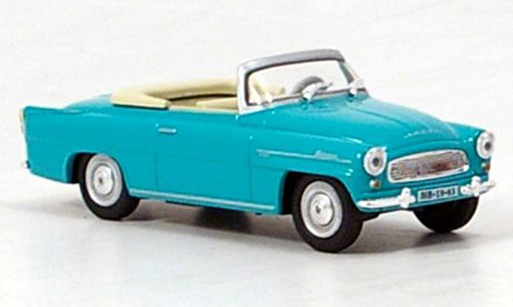 Skoda Felicia 1/43 Abrex Roadster turkis miniature