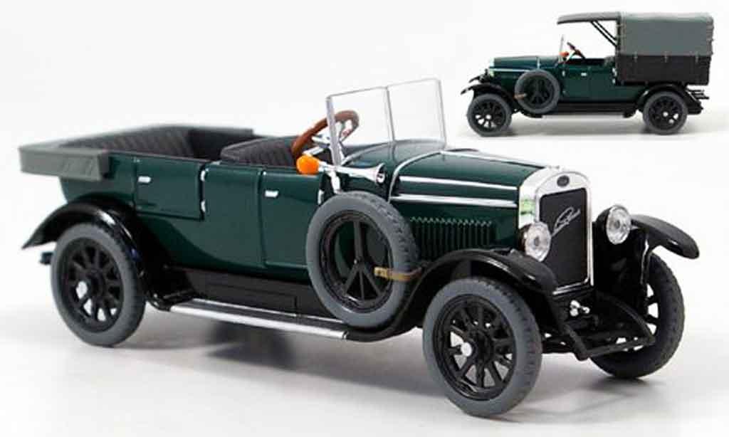 Laurin Klement Combi 1/43 Abrex body limousine lieferwagen verte 1927 miniature