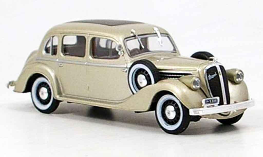 Skoda Superb 1938 1/43 Abrex 913 beige miniature