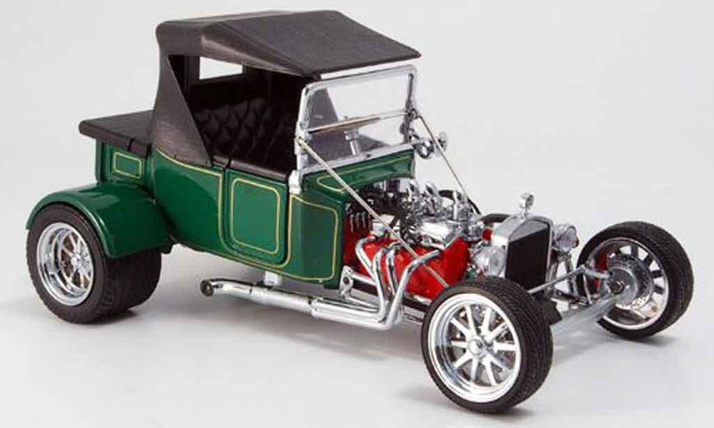 Ford Hot Rod 1/18 Yat Ming t-bucket verte geschlossen 1925 miniature