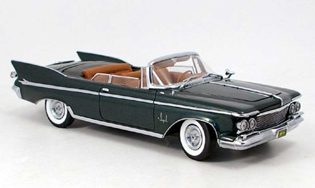 Chrysler Imperial 1/18 Yat Ming crown convertible grun 1961 miniature