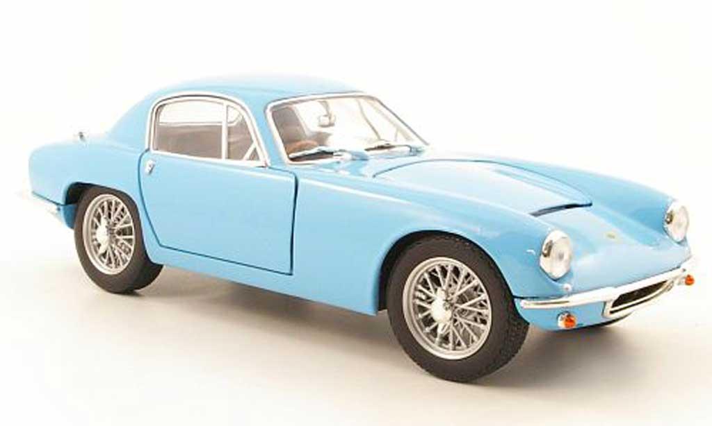 Lotus Elite 1/18 Yat Ming bleu metallisee 1960 modellautos