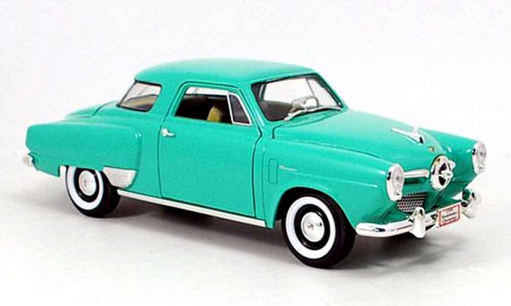 Studebaker Champion 1/18 Yat Ming verte 1950 miniature