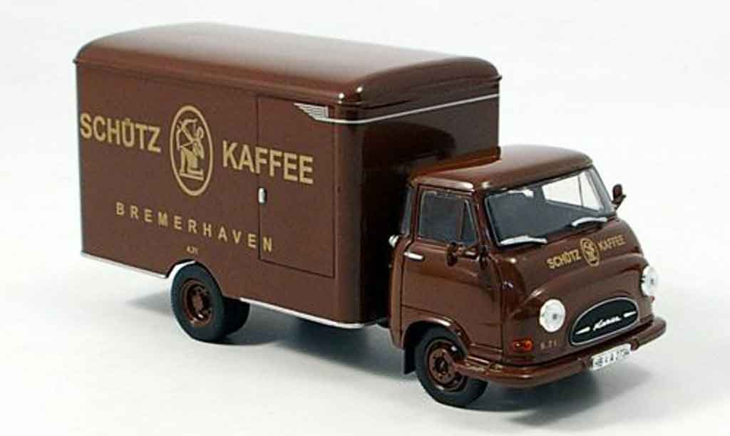 Hanomag Kurier 1/43 Norev Kofferwagen Corman 1960 miniature